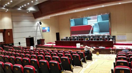 内蒙古阿拉善盟行署党政大楼礼堂音响系统